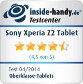 Testsiegel: Sony Xperia Z2 Tablet