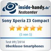 Testsiegel Sony Xperia Z3 Compact