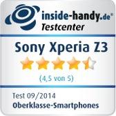 Testsiegel Sony Xperia Z3