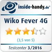 Testsiegel Wiko Fever 4G