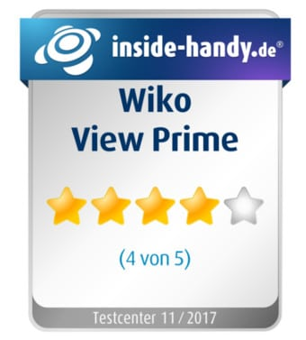 Testsiegel Wiko View Prime