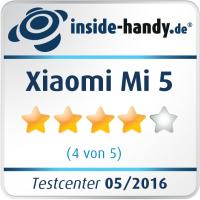 Testsiegel Xiaomi Mi 5