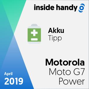 Motorola Moto G7 Power: Akku-Siegel