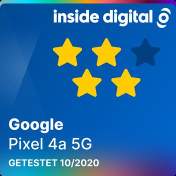 Google Pixel 4a 5G Testsiegel