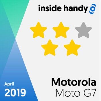 Motorola Moto G7 Testsiegel