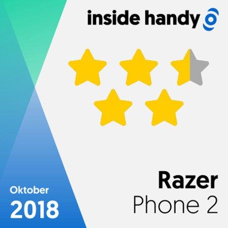Das Testsiegel des Razer Phones 2