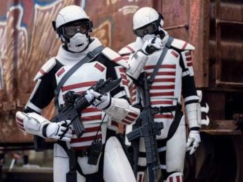The Walking Dead Staffel 11 Commonwealth Soldaten