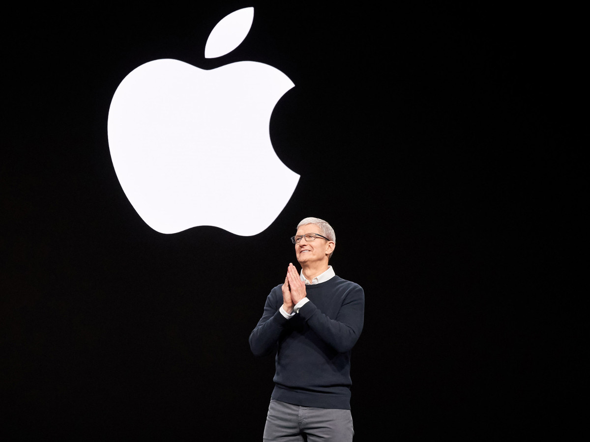 Tim Cook auf Apple Event
