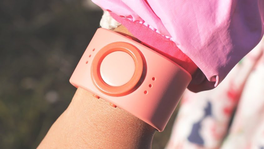 Tinitell - tragbares Armband-Handy