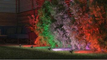 Tint Outdoor-Leuchte Flores