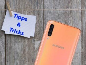 Nützliche Tipps und Tricks für das Samsung Galaxy A50.