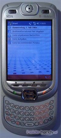 T-Mobile MDA 3 - Aussenansicht geöffnet