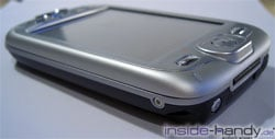 T-Mobile MDA 3 - obere Seitenansicht