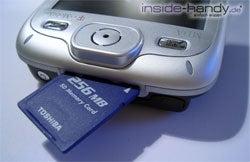 T-Mobile MDA 3 - SD Karten Einschub