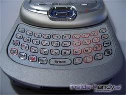 T-Mobile MDA 3 - Tastatur