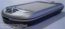 T-Mobile MDA 3 - untere Seitenansicht