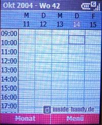 T-Mobile SDA music - Display Terminplaner