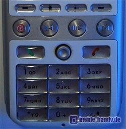 T-Mobile SDA music - Tastatur