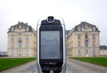 T-Mobile Sidekick 3: beim Fotografieren