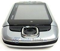 T-Mobile Sidekick 3: Draufsicht oben