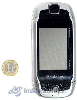 T-Mobile Sidekick 3: Größenverhältnis
