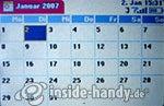 T-Mobile Sidekick 3: Kalender