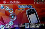 T-Mobile Sidekick 3: Startbildschirm