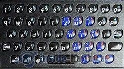 T-Mobile Sidekick 3: Tastatur