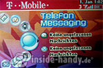 T-Mobile Sidekick 3: Telefon MEssaging