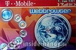 T-Mobile Sidekick 3: Webbrowser