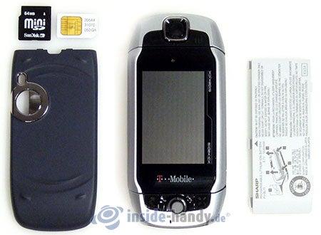T-Mobile Sidekick 3: zerlegt in Bestandteile