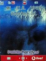 Toshiba TS921 - Hintergrundbild