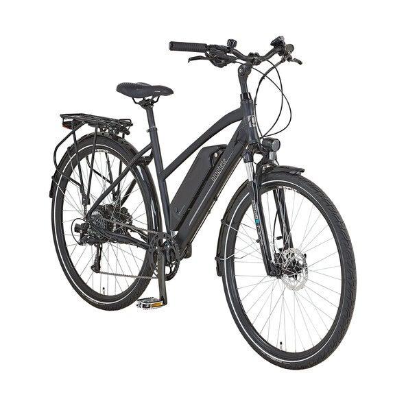 Trekking E-Bike von Prophete in der Frontansicht
