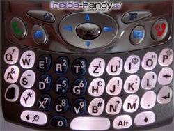 Treo 650 - Tastatur