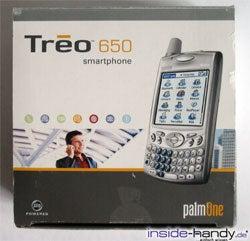 Treo 650 - Verpackung