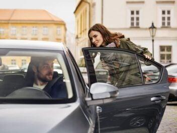 Uber: Fahrer und Fahrgast finden sich per App