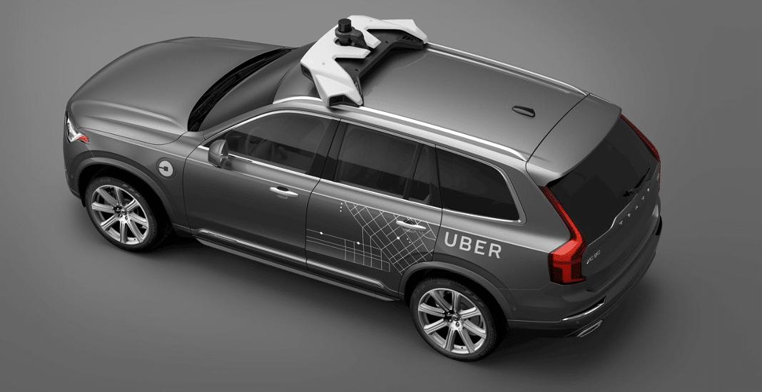 Vernetztes Auto von Volvo für Uber