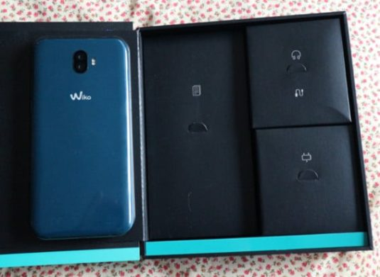 Unboxing Wiko WIM