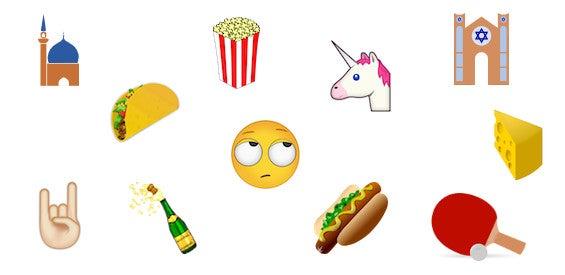 Unicode 8 neue Emojis
