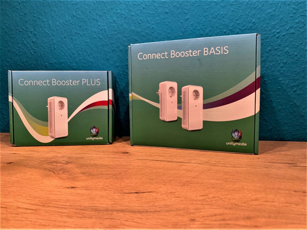 Die Verpackung des Unitymedia Connect Booster