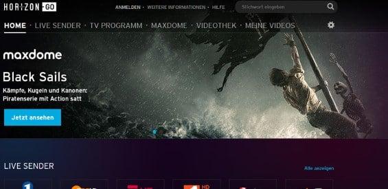 Unitymedia Horizon Go