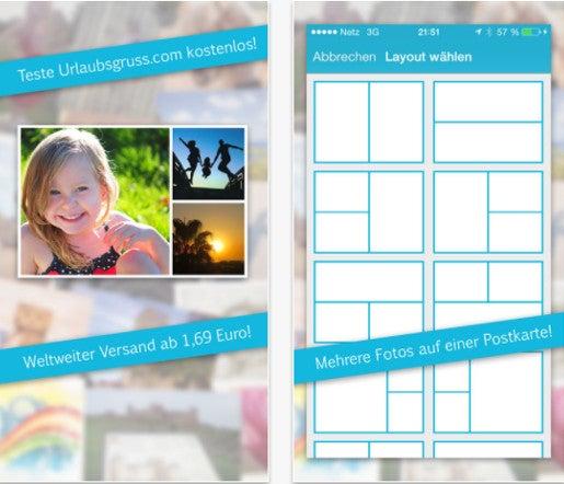 urlaubsgruss.com Postkarten App