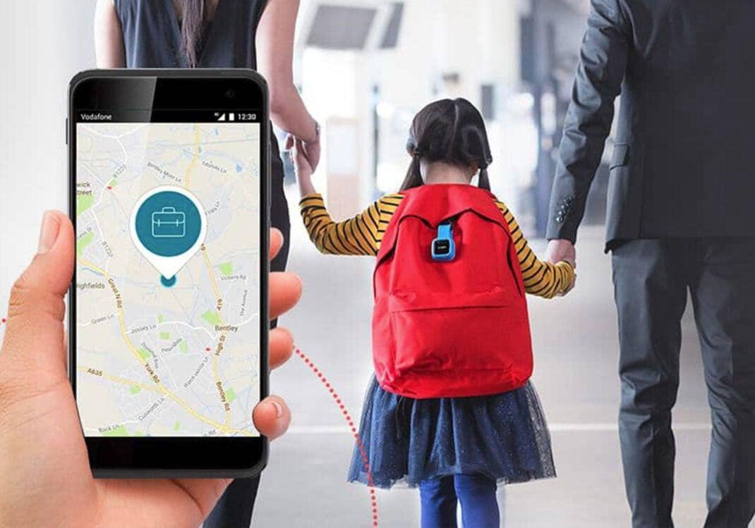 Gepäck- und Rucksacktracker von Vodafone
