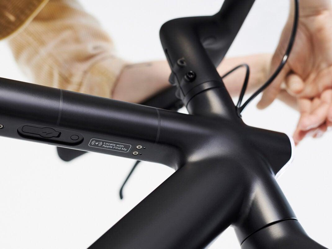 E-Bike von VanMoof mit Find-My-Unterstützung