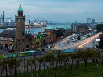 Straßenverkehr in Hamburg