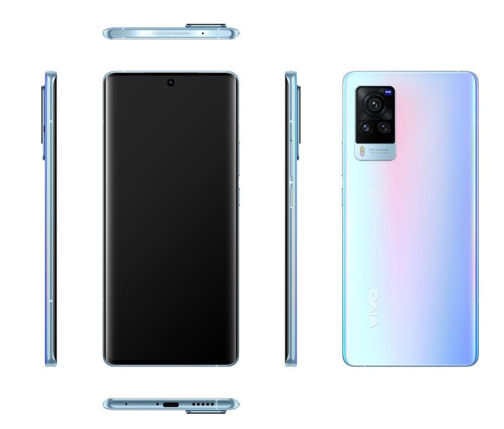 Vivo X60 Pro 5G von allen Seiten