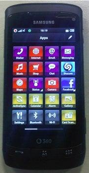 Vodafone 360 Samsung H2 Datenblatt - Foto des Vodafone 360 Samsung H2