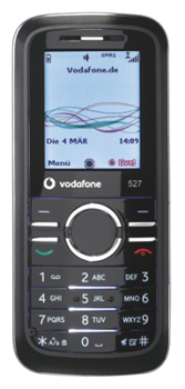 Vodafone 527 Datenblatt - Foto des Vodafone 527