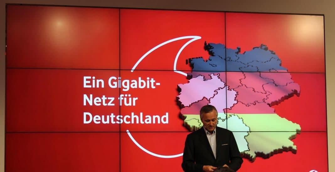 Vodafone-Chef Ametsreiter will Gigabit-Kabel für Deutschland