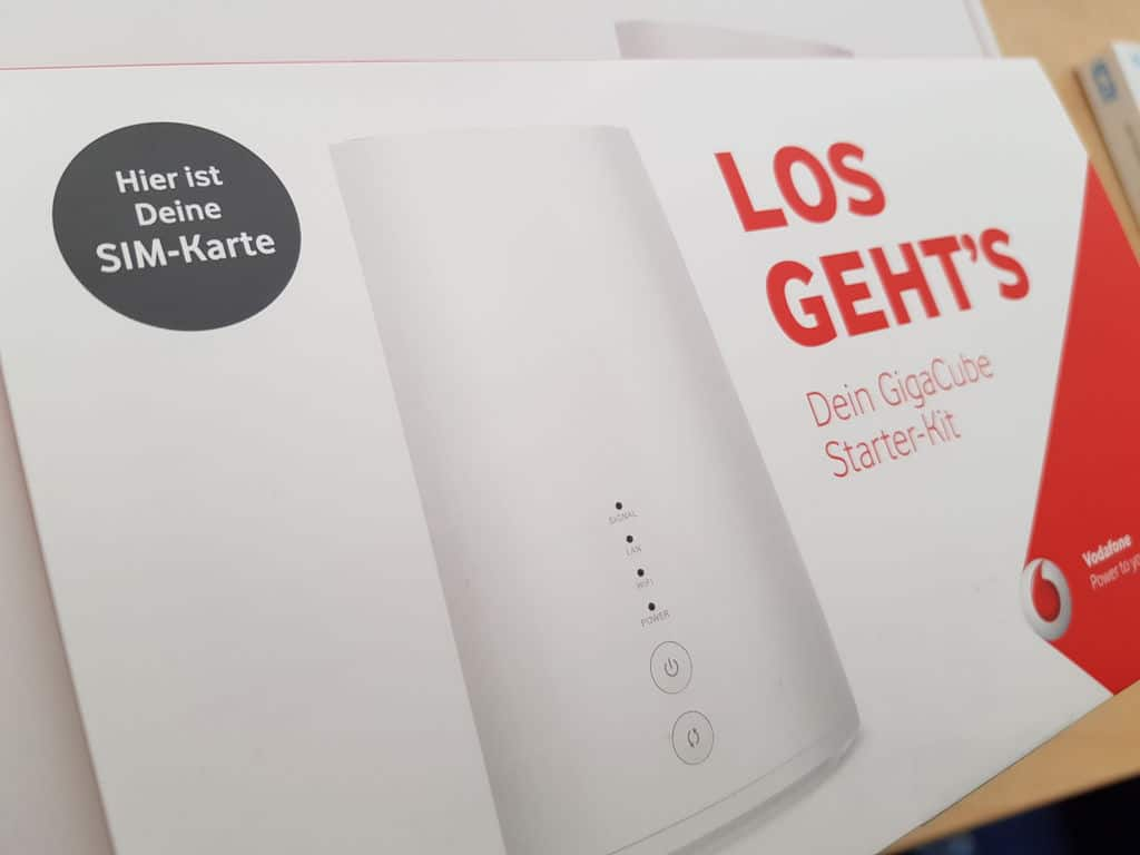 Internet-Flatrate ohne DSL: Vodafone GigaCube, Telekom ...